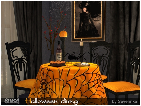 Halloween dining by Severinka
