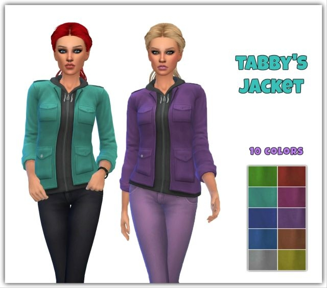 Tabby Jacket in 10 Colors for Teen - Elder Females by Maimouth