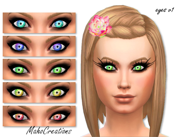 Electric Eyes by MahoCreations