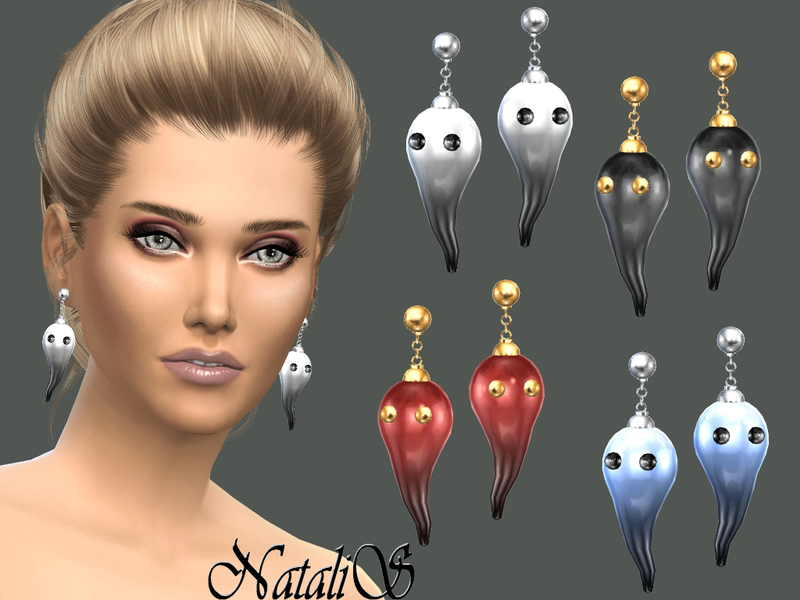 NataliS_Ghosts earrings FT-FA
