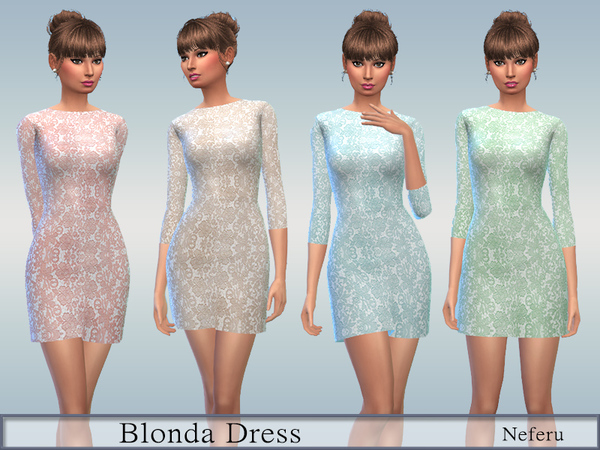 Blonda Dress by Neferu