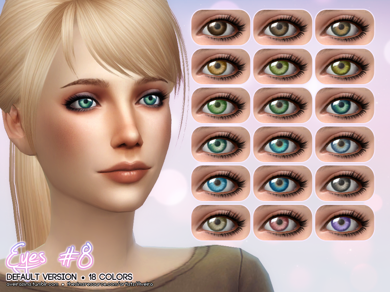 Replacement Eyes by AveiraSims