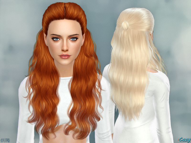 Hannah - Female Hairstyle BY Cazy