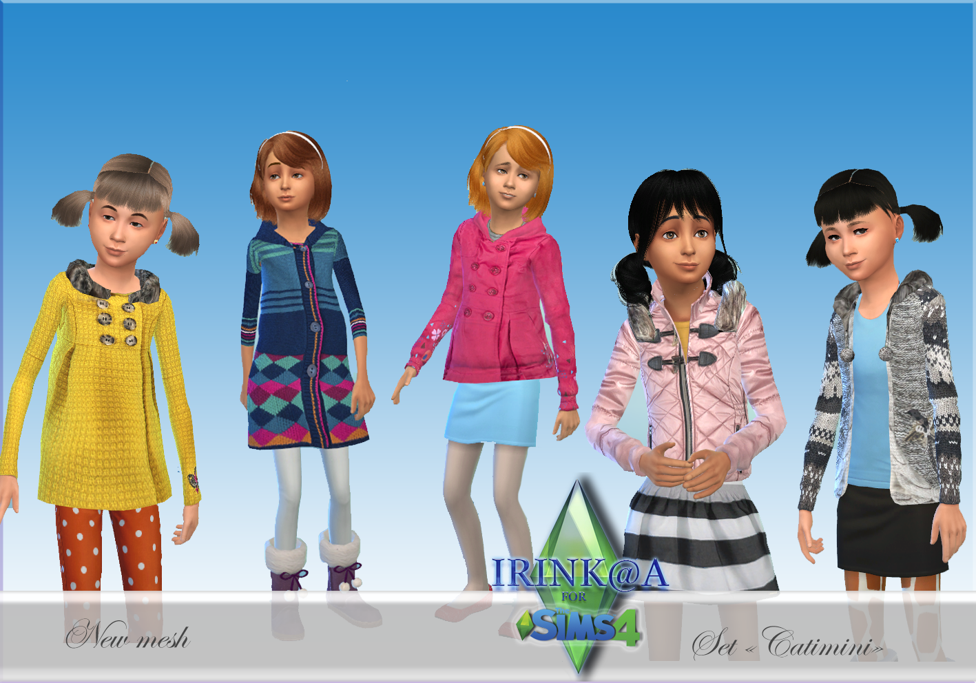 Clothing for Girls by Irink@a