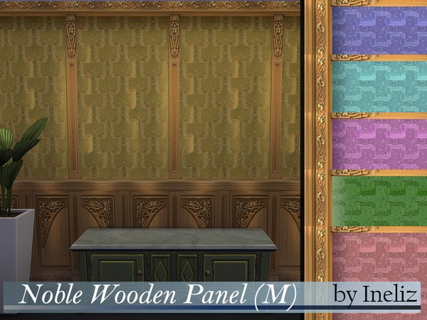 Noble Wooden Panel (M) by Ineliz