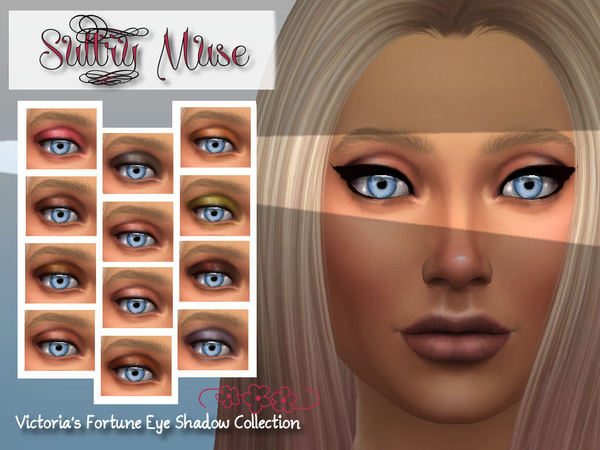 Victorias Fortune Sultry Muse Eye Shadow Collection by fortunecookie1