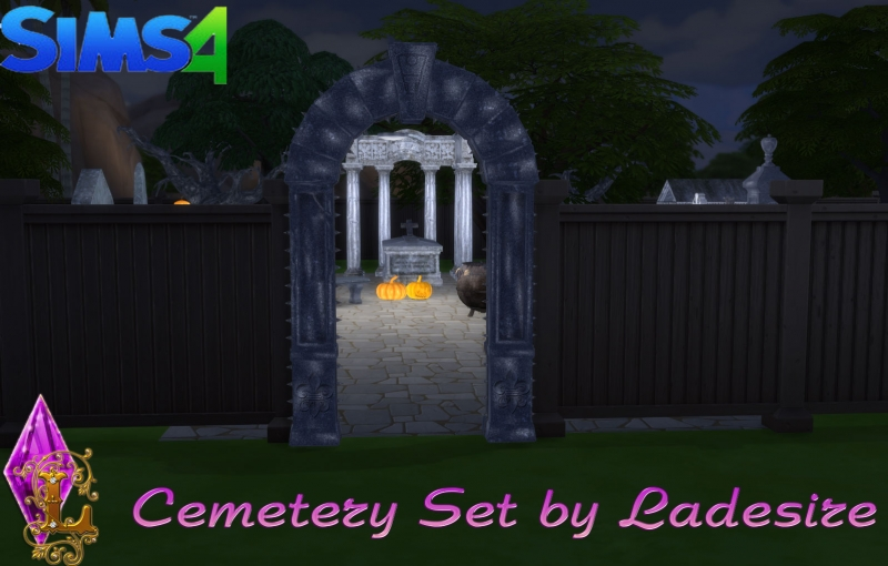 Cemetery Set by Ladesire