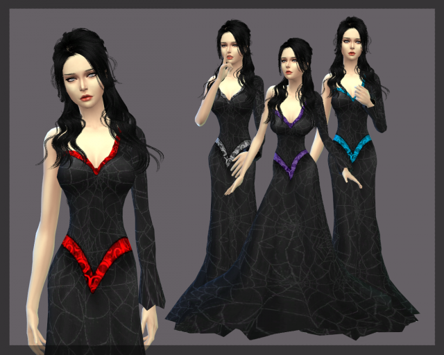 Vampire dress by MoonFairy