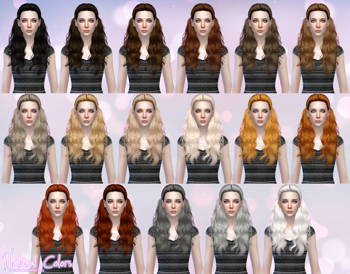 Cazy Hannah Retexture in 60 Colors by AveiraSims