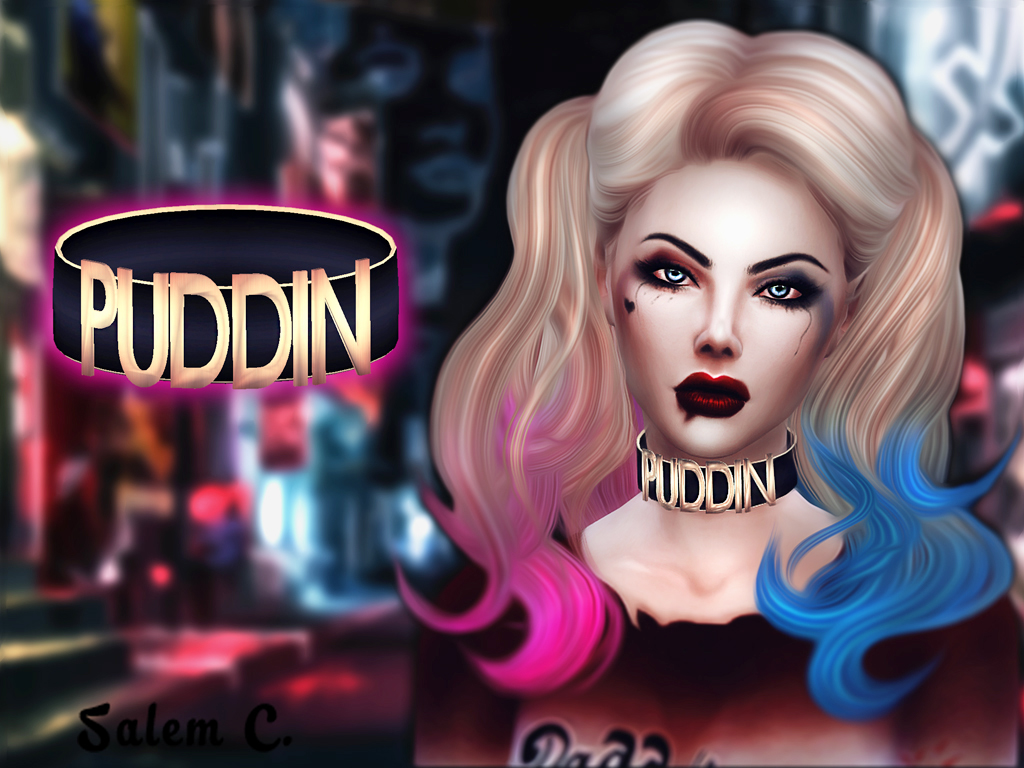 Puddin Necklace by SalemC