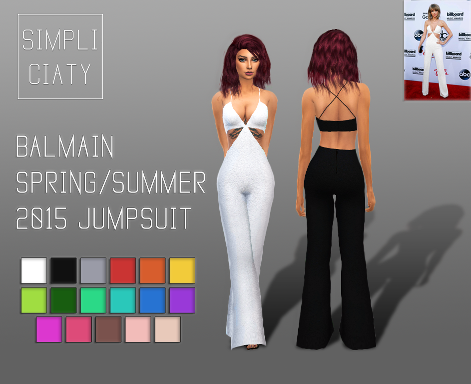 Balmain Jumpsuit by Simpliciaty