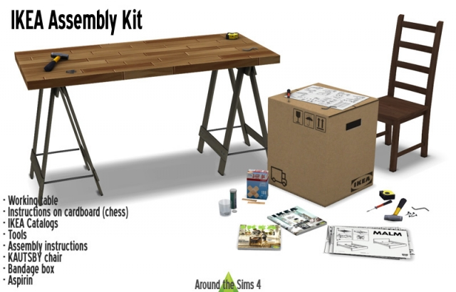 IKEA Assembly Kit by Sandy