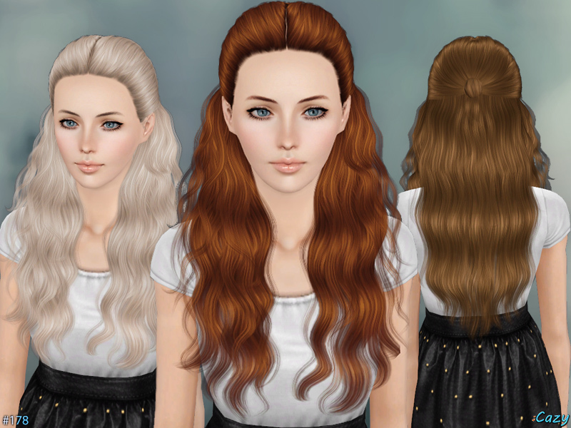 Hannah - Female Hairstyle Set  by Cazy