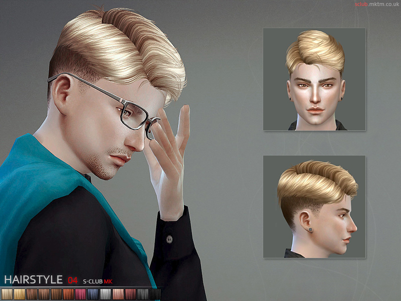 S-Club MK TS4 - Hair N4  BY S-Club