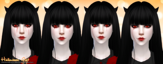 Eyes and Bloody Tears by aveira