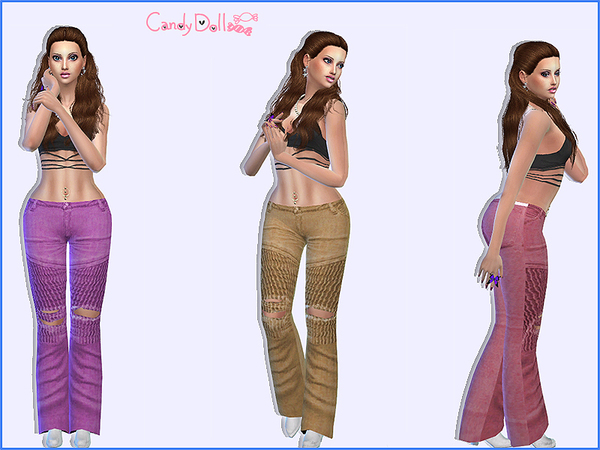 CandyDoll Stylish Jeans by DivaDelic06