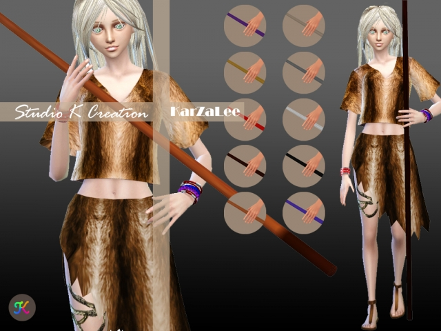 Kung Fu wooden stick for Female and Male by Karzalee