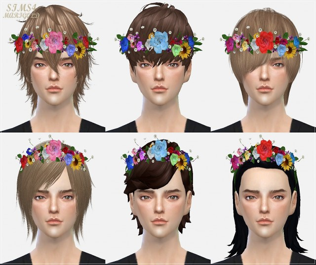 flower crown by marigold