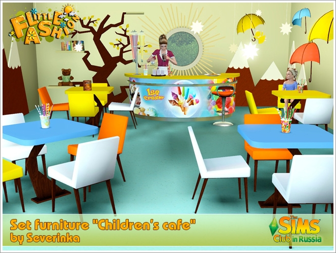 [Little Fashion] Children's cafe by Severinka