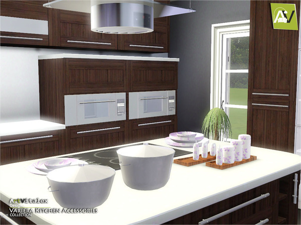 Variera Kitchen Accessories by ArtVitalex