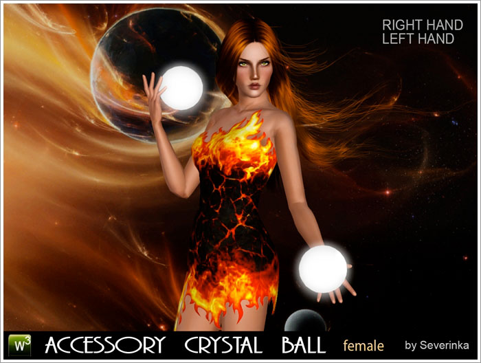 Accessory Crystal ball by Severinka