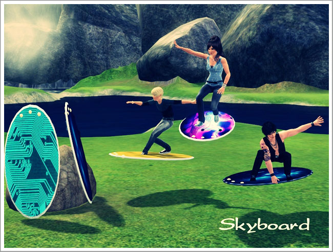 Skyboard by Severinka