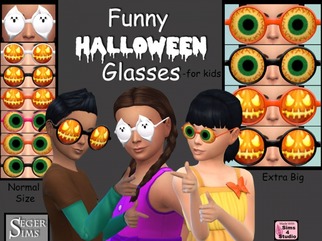 Halloween Accessories for Kids by SegerSims