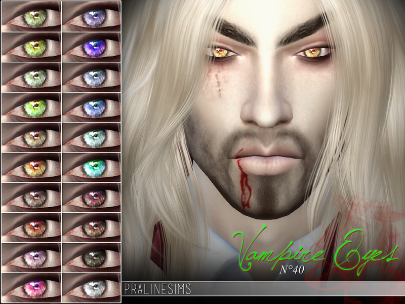[Pale Secret] ~ Vampire Collection BY Pralinesims