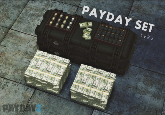 Payday - Decorative Money Set by R-Jayden
