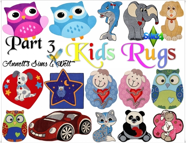 Kids Rugs - Part 3 by Annett85
