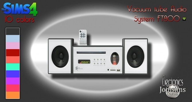 VACCUM TUBE AUDIO SYSTEM FT800 AT JOMSIMS