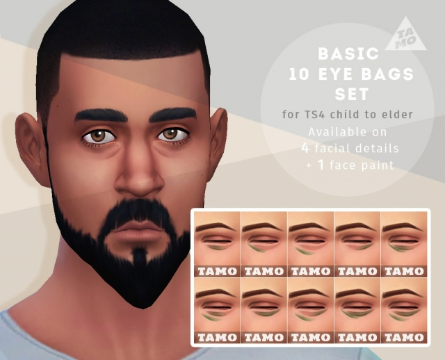 Basic 10 Eye Bags Set for All by Tamo