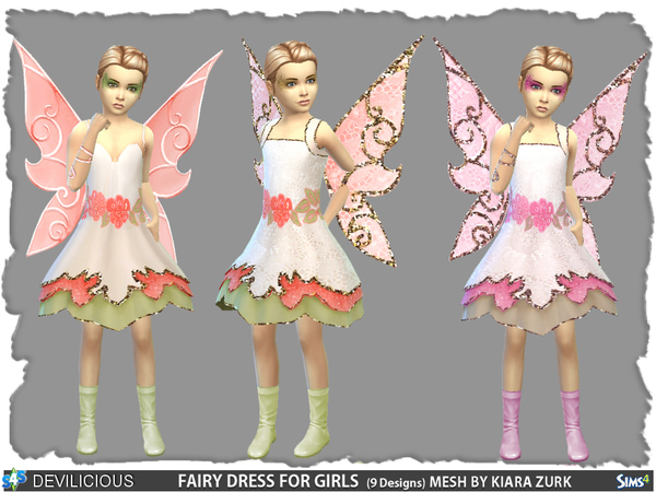 Fairy Dress for Girls by Devilicious