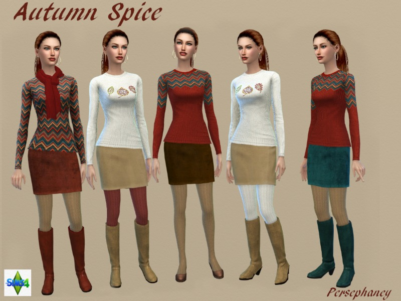 Autumn Spice Set  BY Persephaney