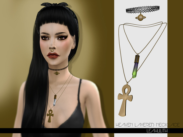 LeahLilith Heaven Layered Necklace