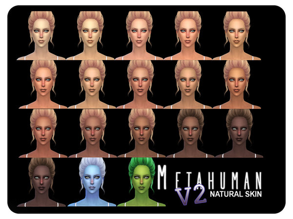 [ Metahuman V2 ] - Natural Skin FEMALE by Screaming Mustard