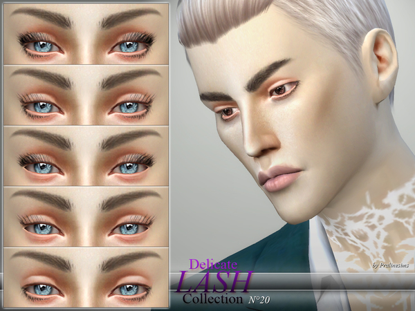 Delicate Lash Collection  N20 by Pralinesims