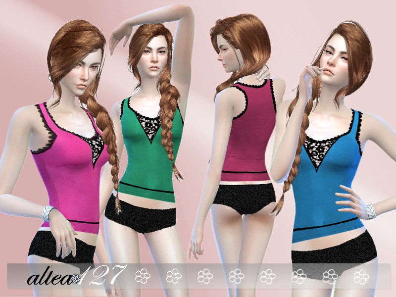 Sport Underwear Set for Females by Altea127