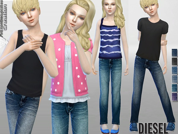 Diesel Original Jeans for Kids by Pinkzombiecupcakes