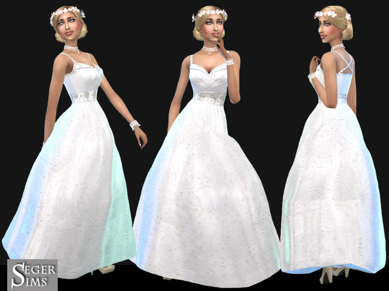 SegerSims_WeddingDress 01 BY SegerSims