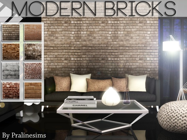 Modern Bricks by Pralinesims