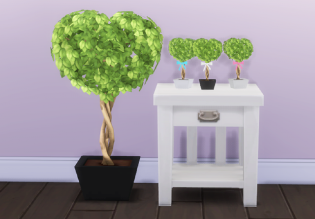 Little Heart Trees by BerrySimlish