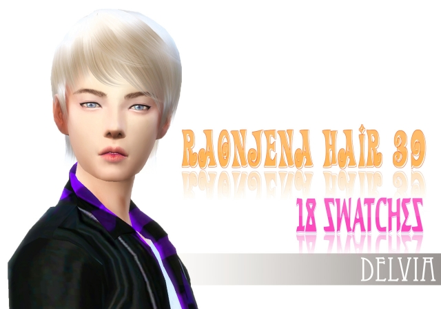 Raonjena Male Hair Conversion by Mmmmeherrr
