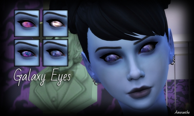Galaxy Eyes by Ameranthe