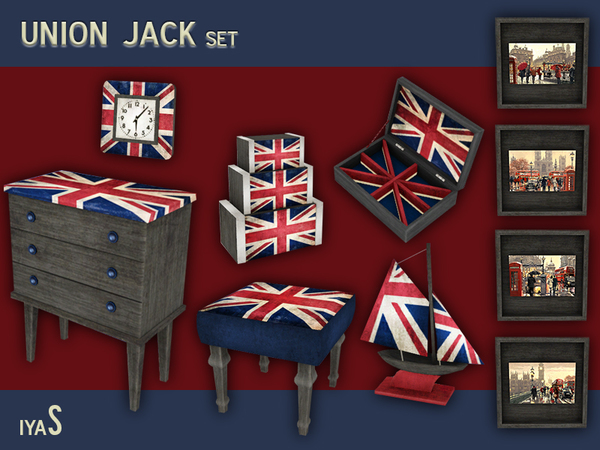 Union Jack set by soloriya