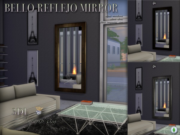 3DL Imperio Sim Bello Reflejo Mirror by eddielle