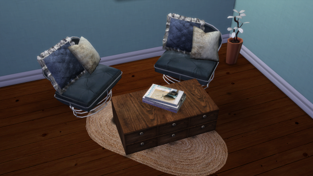 SIMS IN PARIS SOFA AND ARMCHAIRS- CONVERSION by LEO-SIMS