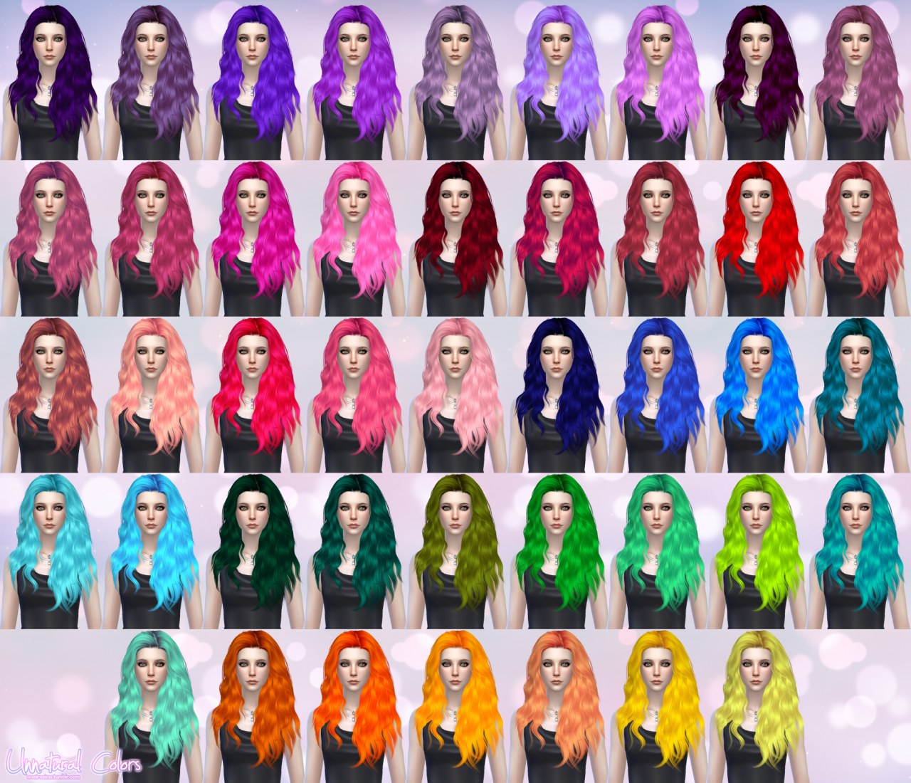 Stealthic Hair Retexture for Females by AveiraSims