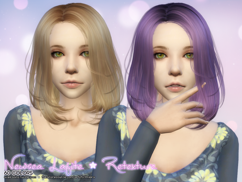 Newsea Hair Retexture for Females by AveiraSims