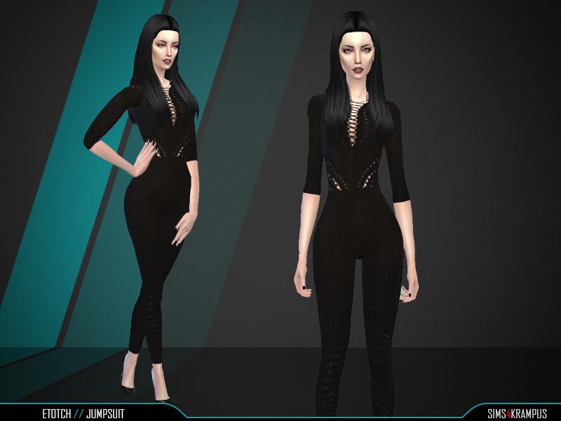 Etotch Jumpsuit BY SIms4Krampus